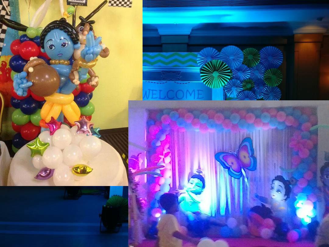 Krishna theme
